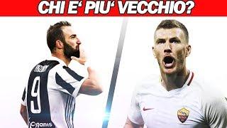 RIESCI ad INDOVINARE il CALCIATORE piu' VECCHIO? [Parte 2]   Quiz Di Calcio 2018