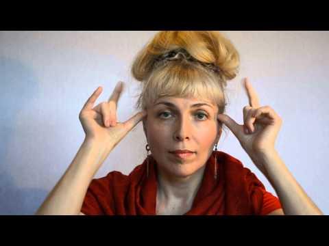 Марма-массаж для омоложения лица (массаж активных точек лица)