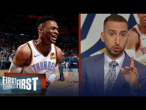 Nick Wright reacts to Russell Westbrook's historic 20-20-20 game | NBA | FIRST THINGS FIRST thumbnail
