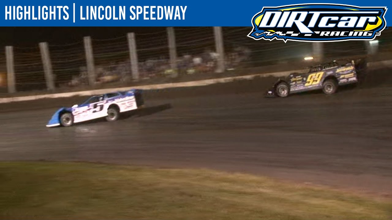 DIRTcar Summer Nationals Late Models Lincoln Speedway August 16, 2020 | HIGHLIGHTS
