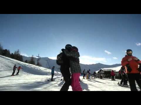 Kizomba fusion snow winter :kizomba su neve pila