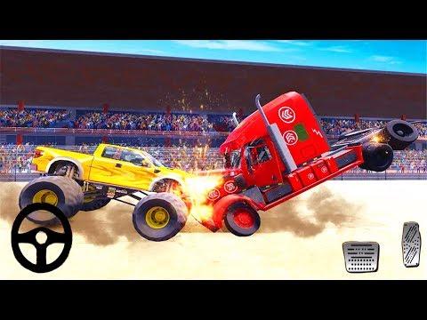 Monster Truck Demolition Derby Games: Extreme Demolition Derby Truck Crash - Android Gameplay