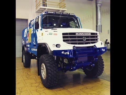 Новый капотный грузовик Камаз-мастер