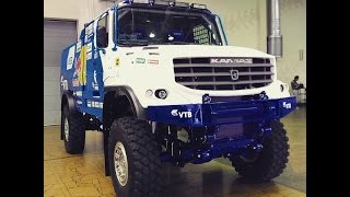 Новый капотный грузовик