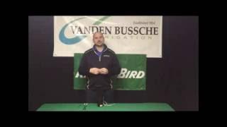 Removing a Bottom VaĮve - VandenBussche Golf Video Series