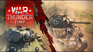 War Thunder PC Gameplay 4K 2160p