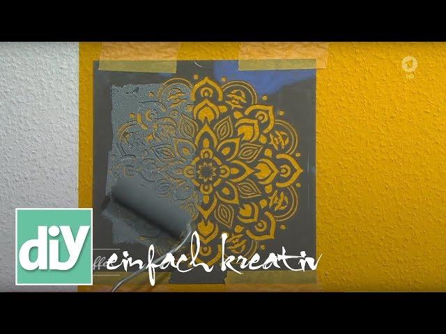 Tapeten selbst designen | DIY einfach kreativ