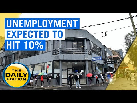 Coronavirus: Australia's Unemployment Rate Expected To Peak At 10% In June Quarter | 7NEWS