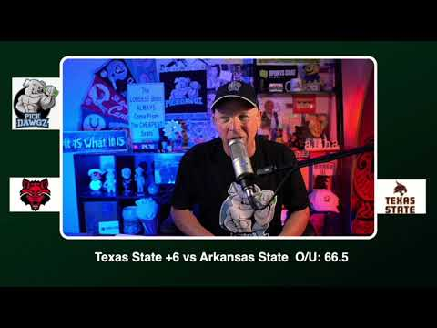 Texas State vs Arkansas State 11/21/20 Free College Football Pick and Prediction CFB Tips Pick Dawgz