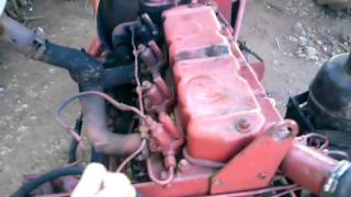 Motor perkins 4203 teste
