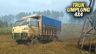 Download Video Begini Kalo Truk Umplung 4x4 Offroad #Mudrunner MP3 3GP MP4