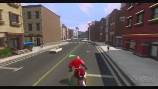 Disney Infinity Walkthrough - The Incredibles: Find Snoring Gloria