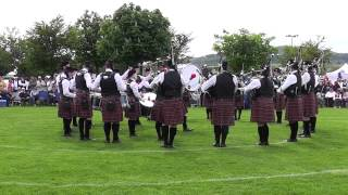 Police Service of Northern Ireland Pipe Band Newtonards 2014