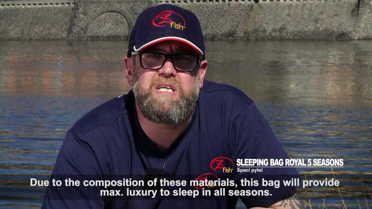 Zfish Spací Pytel Sleeping Bag Royal 5 Season - YouTube 7a7f68c66b