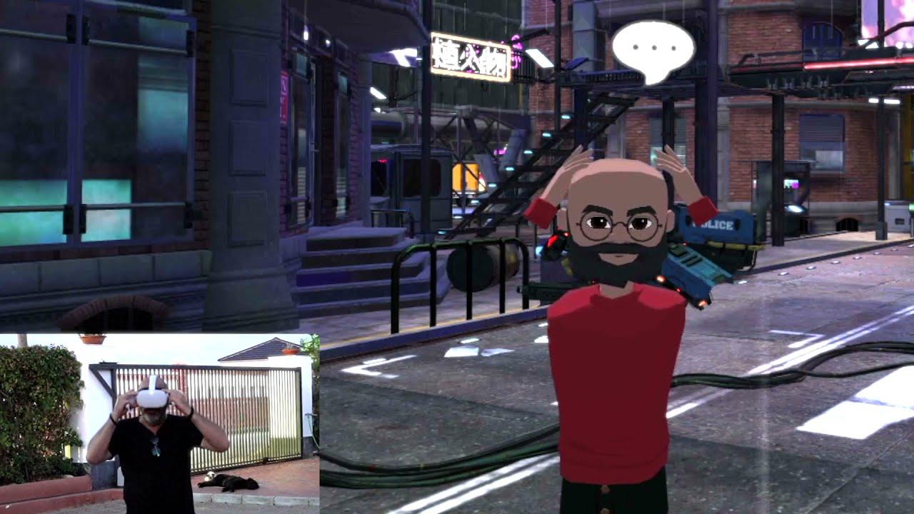 Paco Pil - Libertad de movimientos en Metaverso/Realidad Virtual