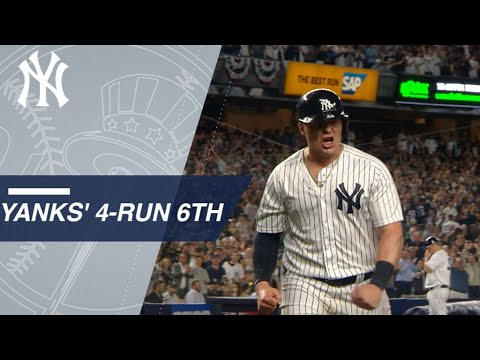 Hicks, Voit Spark Yankees' 4-run 6th In The Wild Card Game