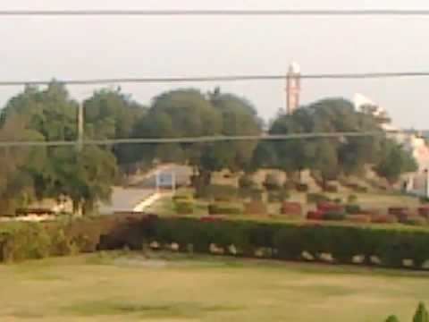 Morning view at Sindh Regimental Center Hyderabad.