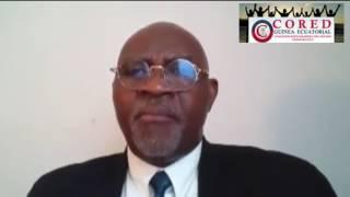 Mensaje de Carlos Abaga Ayingono, Partido CORED  - Campaña de mobilizacion  Clan Obiang