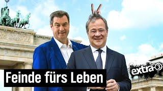 Laschet und Söder: Gemeinsam in den Untergang | extra 3 | NDR