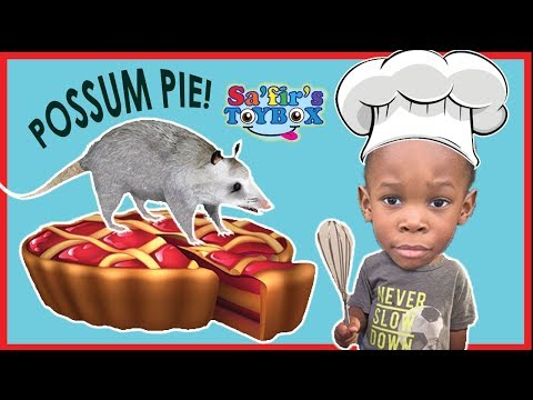 BAKING POSSUM PIE?!! Cooking with Sa'fir! Easy recipe for kids!