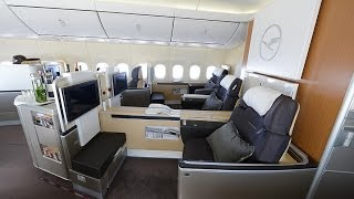 Lufthansa B747-8 Intercontinental First Class - Experience the Legend!