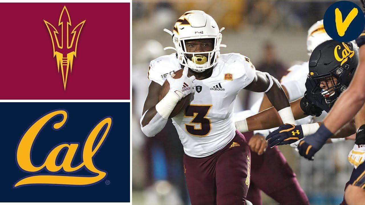 Arizona State vs #15 Cal   Week 5   College Football Full Game Highlights   2019