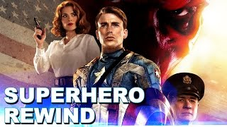 Superhero Rewind: Captain America The First Avenger Review