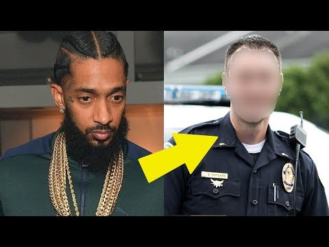 LAPD Caught Disrespecting Nipsey Hussle at His Funeral