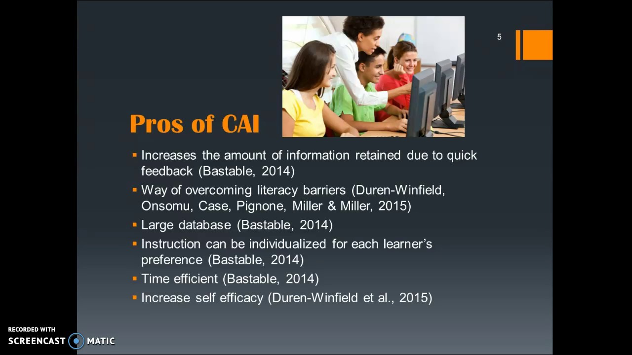 Computer Assisted Instruction Cai Youtube