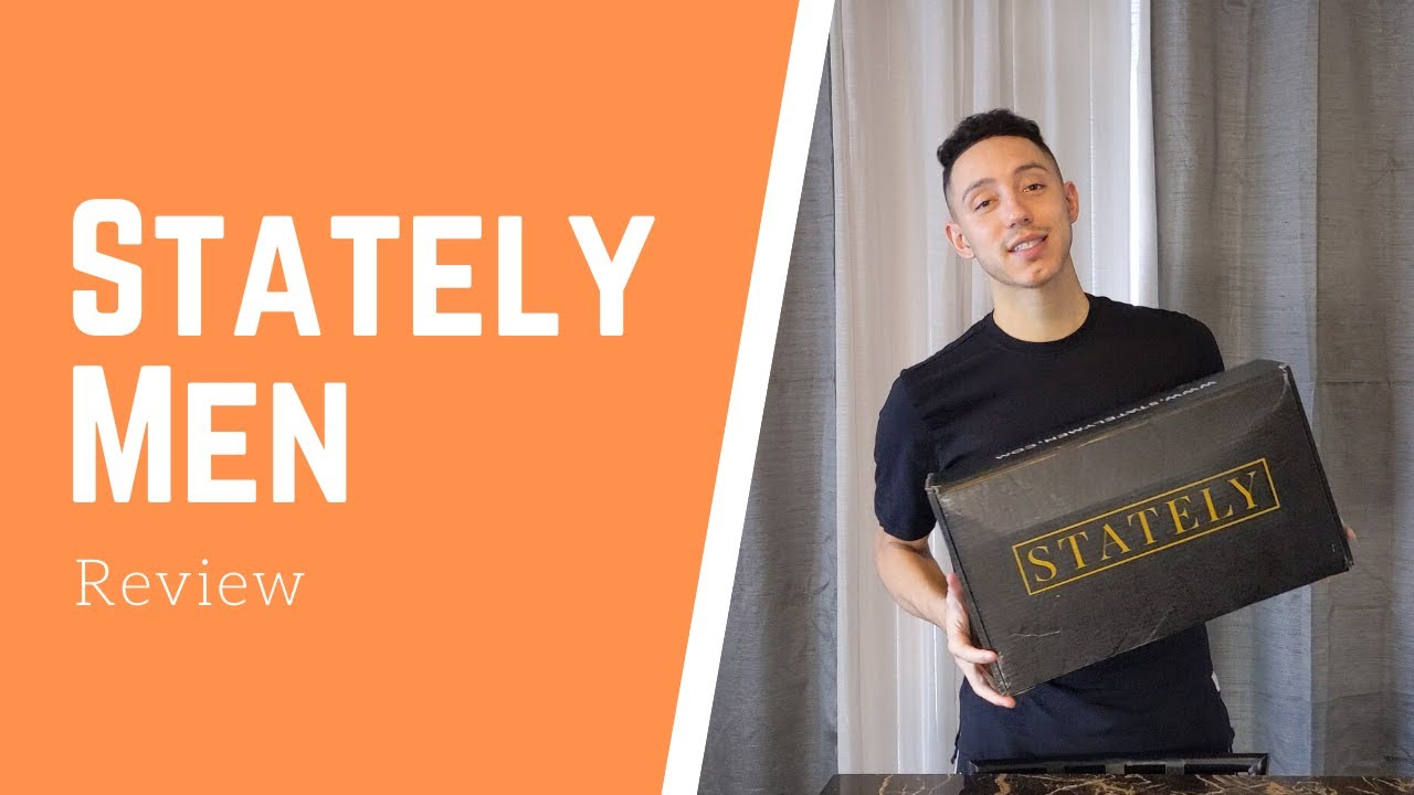 Download Stately Men Clothing Box Review