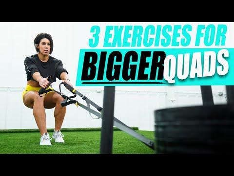 GROW YOUR QUADS | My Top 3 Quad Building Exercises