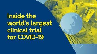The recovery trial is world's largest of treatments for covid-19 patients. we speak to prof martin landray, university oxford, find out more ...