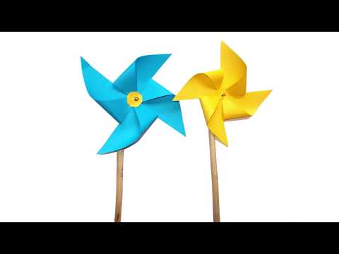 How To Make A  Amazing  Paper Windmill  | Paper Fan Tutorial