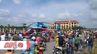 Trực thăng hạ cánh khẩn cấp tại Thái Bình | VTC
