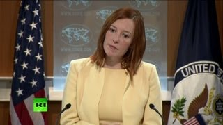 'US citizen has no right to free speech?' State Dept spokesperson grilled over Snowden thumbnail