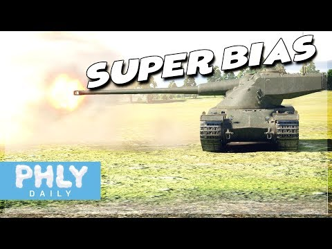 SUPER-BIAS | KING of ARMOR PIERCING (War Thunder Tanks Gameplay)