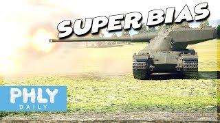 SUPER-BIAS | KING of ARMOR PIERCING (War Thunder Tanks Gameplay)