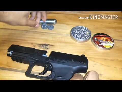 Pistola Umarex Walther mod. ppq a gas Co2 (4.5mm)