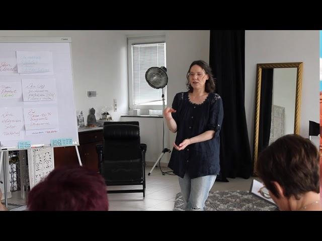 Teil des Vortrags von Sylke Gall im Photo-Profil-Workshop