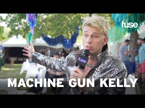 Machine Gun Kelly Describes Performing Linkin Park's Numb | Lollapalooza 2017