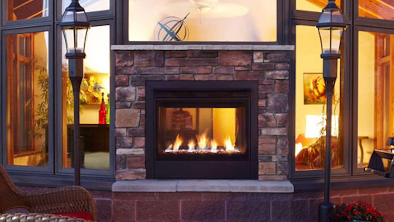 Western Springs Gas Fireplace Logs   Fireplace Patio Design Store