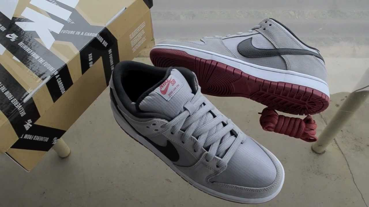 59debd85c01 Nike Dunk Low Pro SB Wolf Grey Review - YouTube