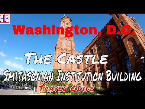 Washington, D.C | Smithsonian Institution Building (The Castle) | Tourist Attractions | Episode# 13