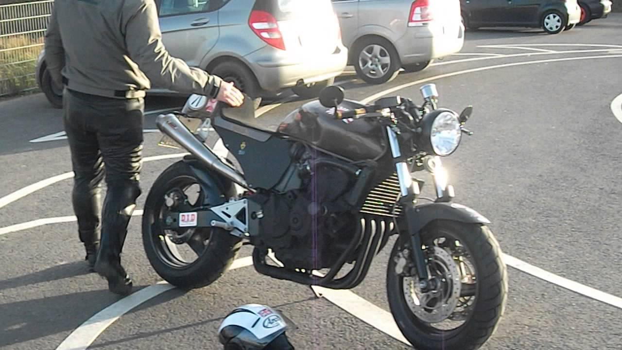 Bien-aimé Caferacer Honda Hornet PC 34 - YouTube KV68