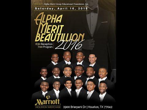 Alpha Merit Beautillion Gala 2016