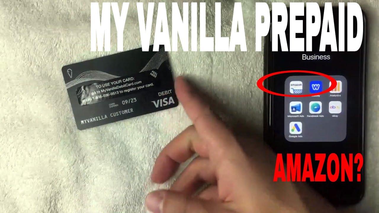 ✅ Can You Use My Vanilla Prepaid Debit Card On Amazon 🔴