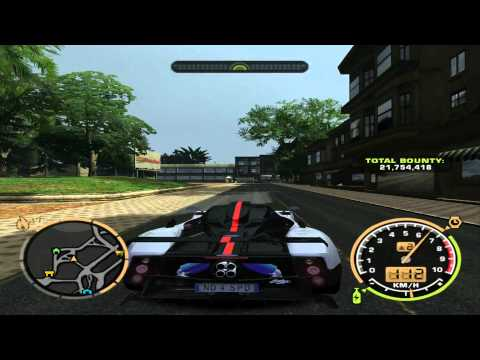 NFS Most Wanted 2011 |HD| * Zonda * Ferrari * Audi *