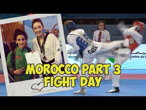 MOROCCO GRAND PRIX PART 3 | FIGHT DAY | JADE JONES VLOG