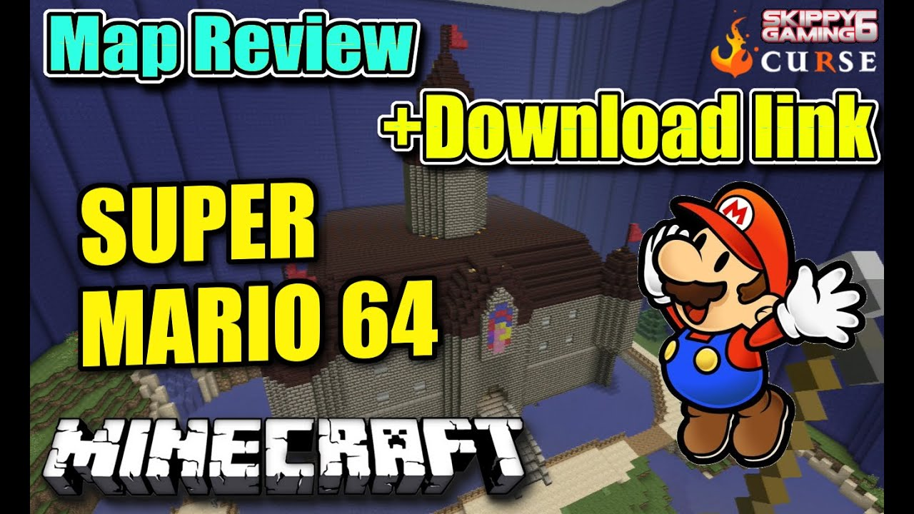 MINECRAFT - PS3 - SUPER MARIO 64- HUNGER GAMES MAP REVIEW + DOWNLOAD LINK ( PS4 ) SERVER UPDATE ...