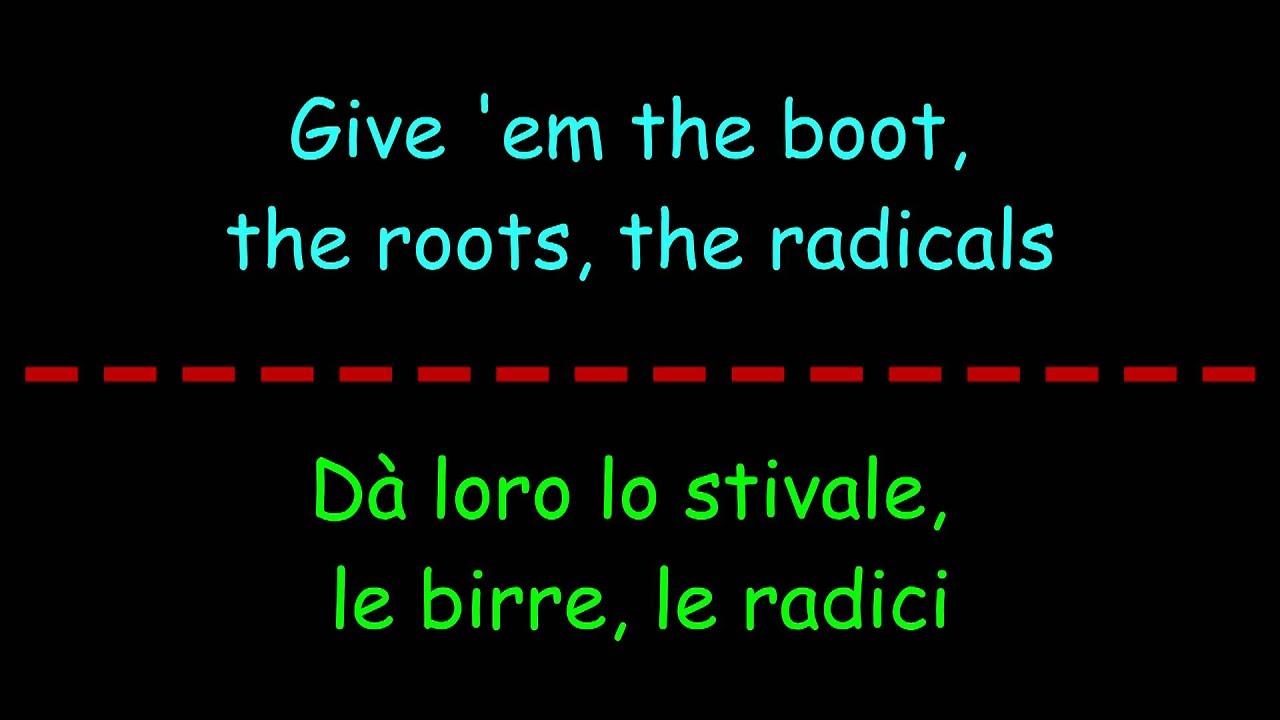 Rancid - Roots Radicals Lyrics | MetroLyrics